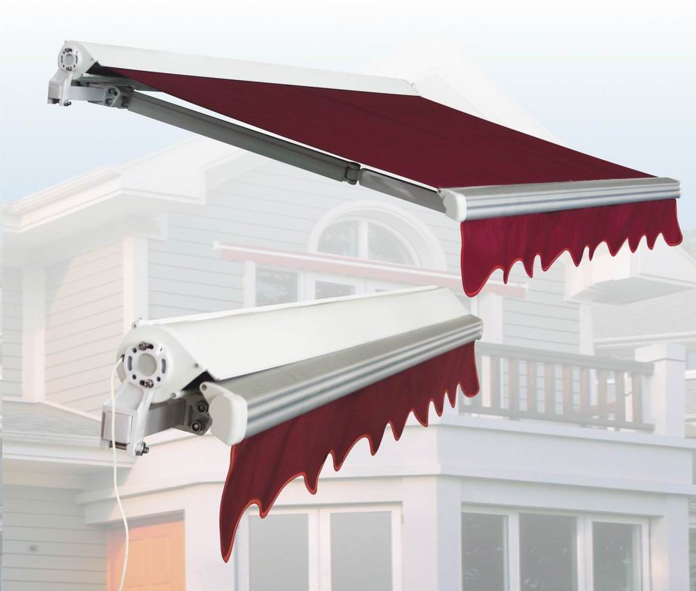 retractable awning malaysia gear or motorised